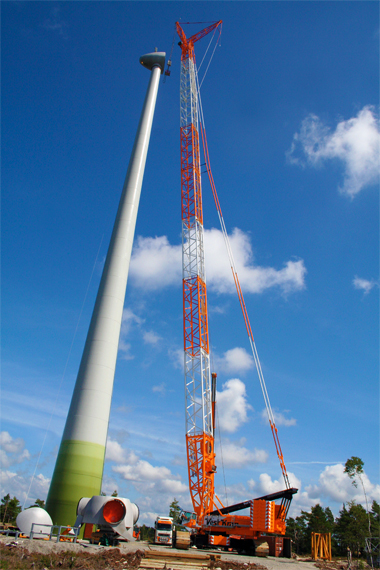 Wind Turbine Installation 2