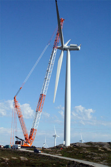 Wind Turbine Installation 3